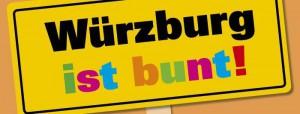 Logo Würzburg ist bunt