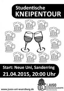 Plakat Kneipentour
