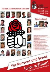 Für Konvent und Senat 2014