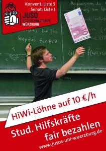 Unser Wahlplakat vom Hochschulwahlkampf 2015